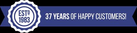Established 1983. 32 Years of happy customers.