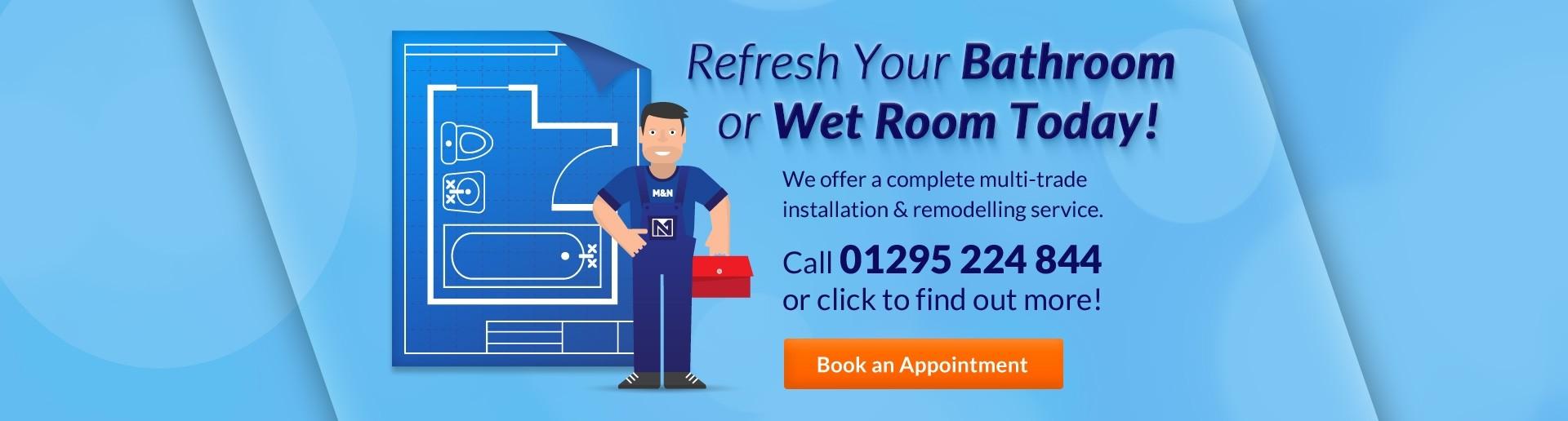 Refresh Your Bathroom or Wetroom