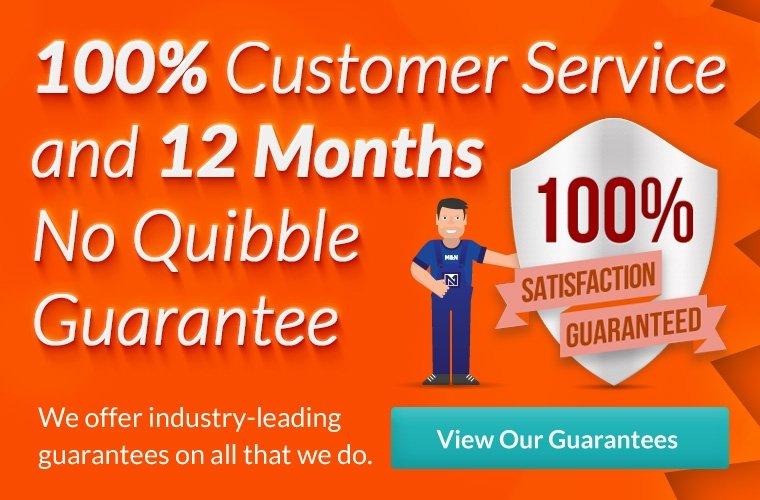 !00% Satisfaction Guarantee
