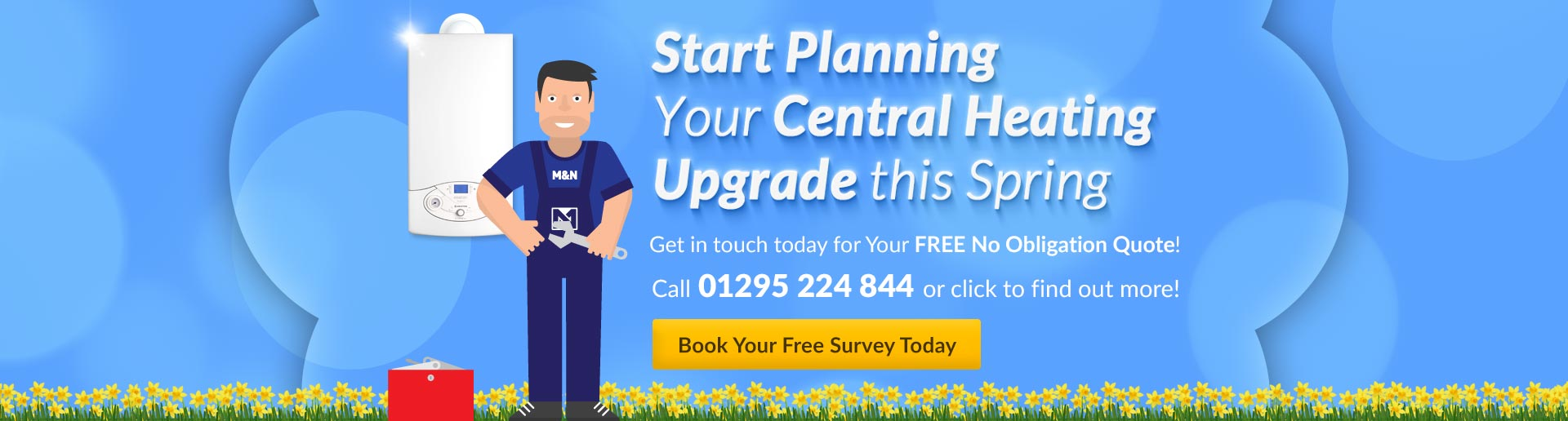 Plan Central Heating This Spring