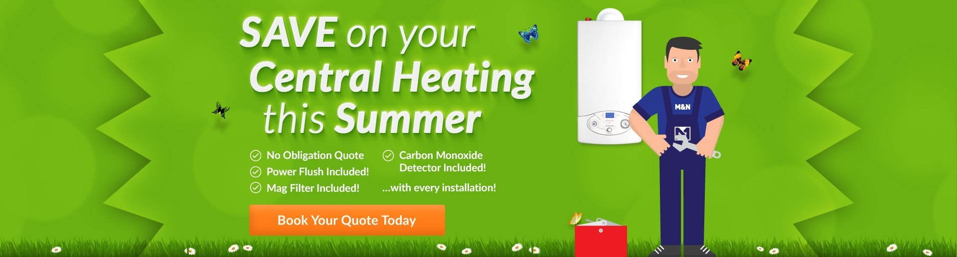 Save on Central Heating This Summer