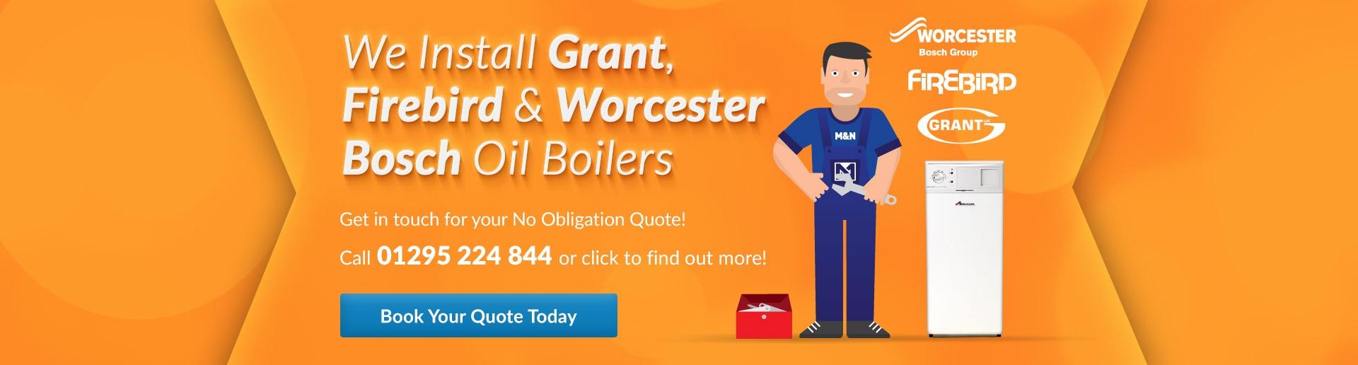 We Install Oil Boilers