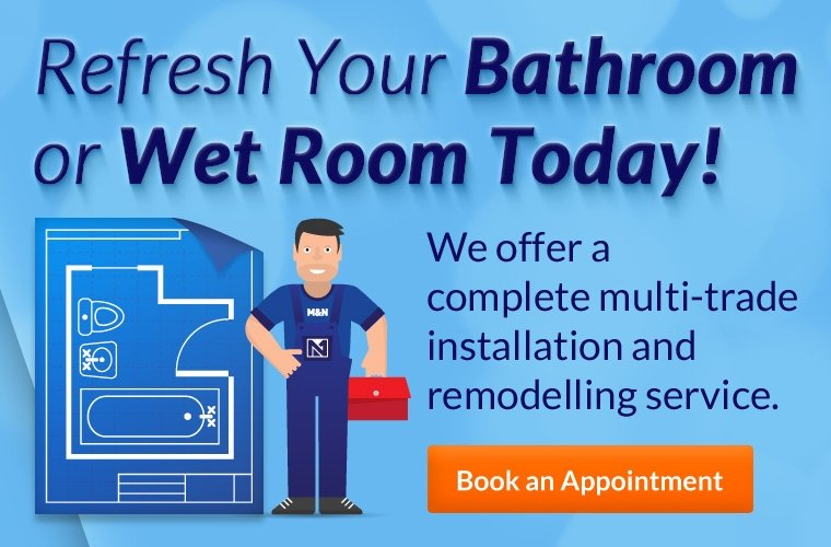 Refresh your bathroom or wet room