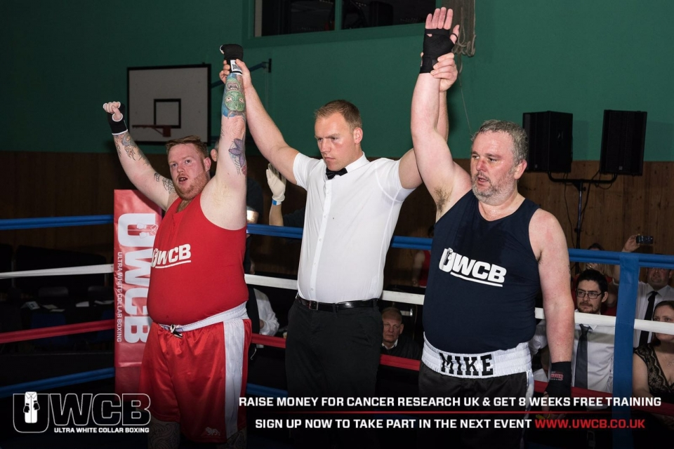 M&N Terry Anderton UWCB Charity Boxing Match
