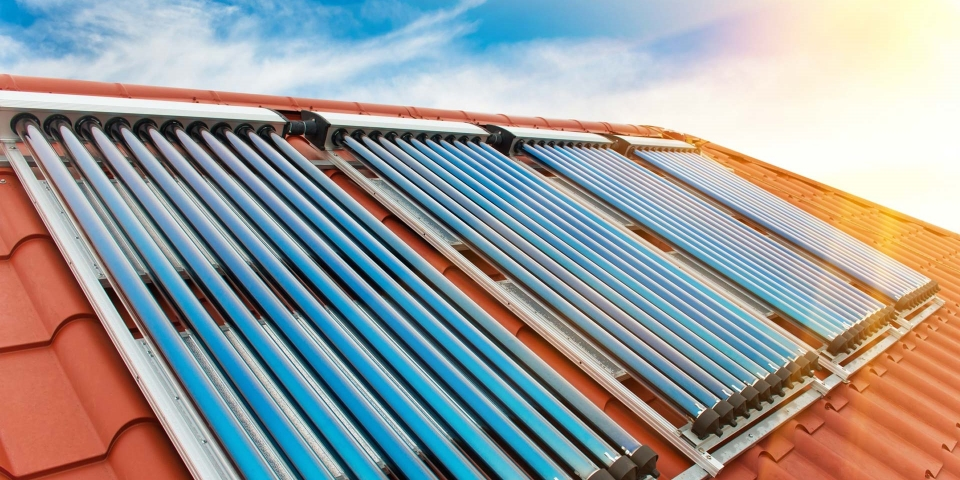 Renewable Energy Solar Thermal Panels - M&N Heating & Plumbing