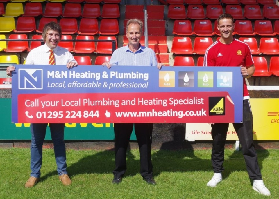 We Support Banbury United FC - M&N Heating & Plumbing
